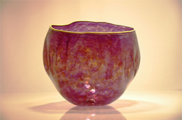 Luxury Anthias Art Glass Bowls for Estates and Mansions
